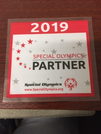 2019 Special Olympics Partners badge